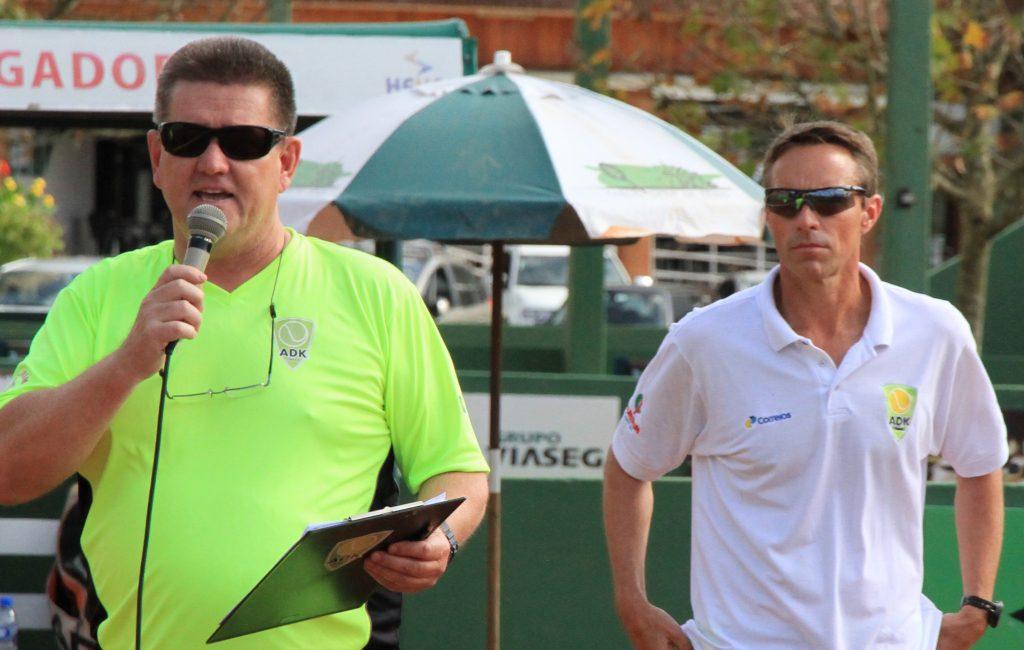 Ivan Kley e Patricio Arnold, coordenadores técnicos da ADK Tennis