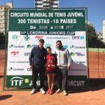 Caroline e Narciso (treinador) - ADK Tennis